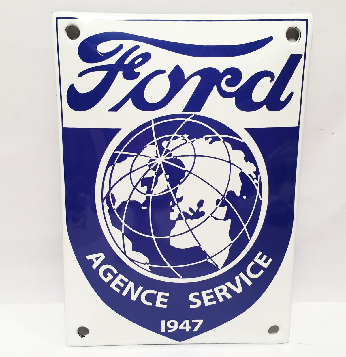 Ford Agence Service 1947 Emaille Bord