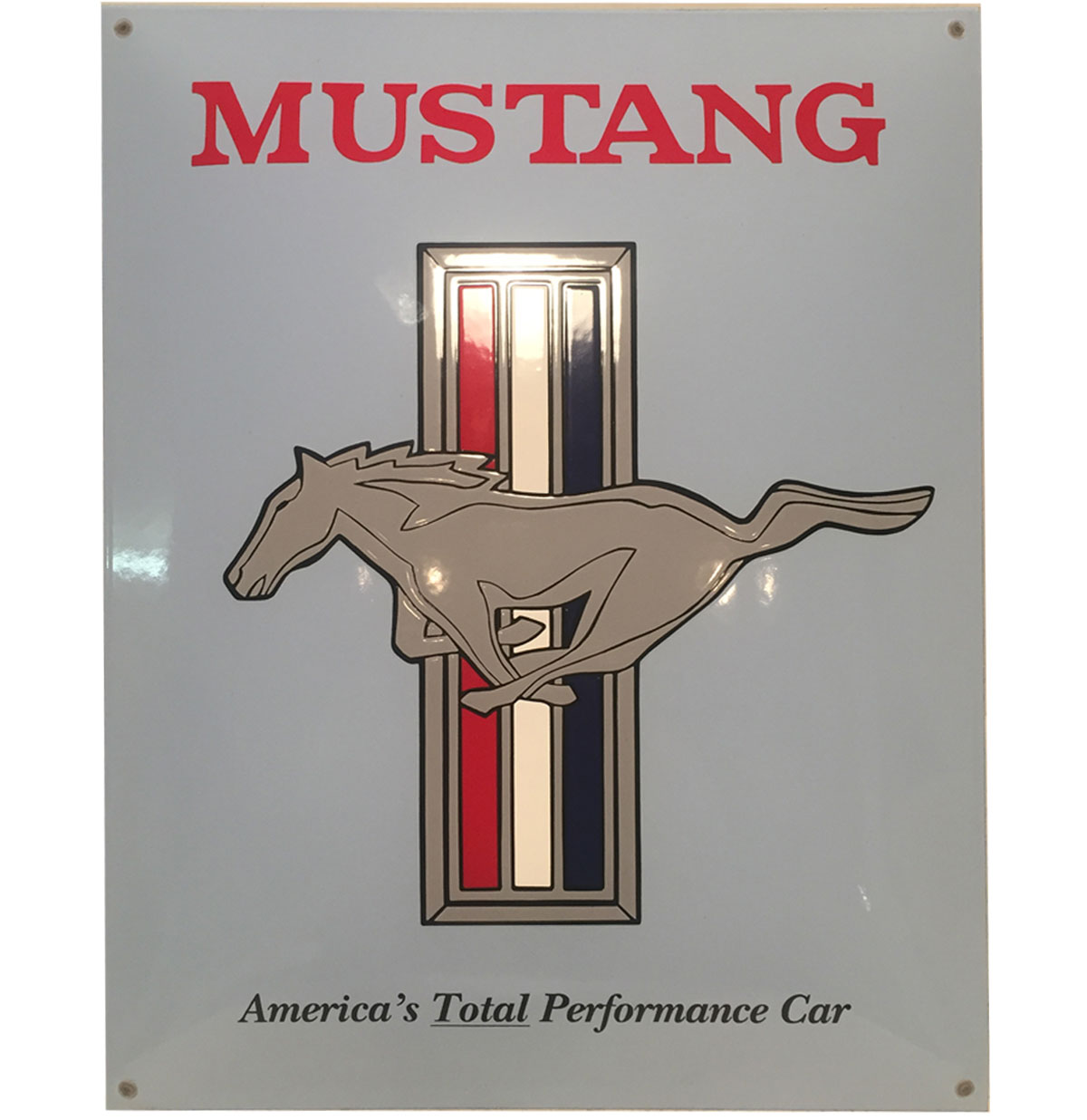 Ford Mustang Emaille Bord