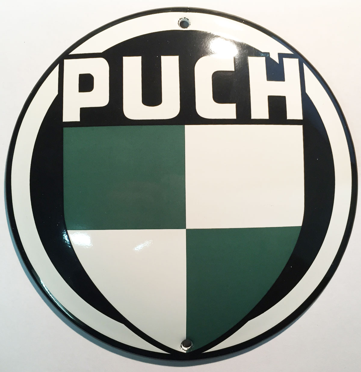 Puch Emaille Bord