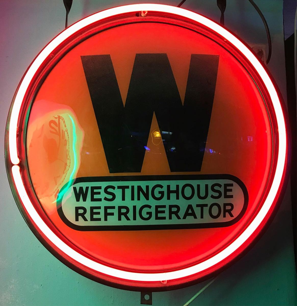 Westinghouse Refrigerator Neon Verlichting - Origineel