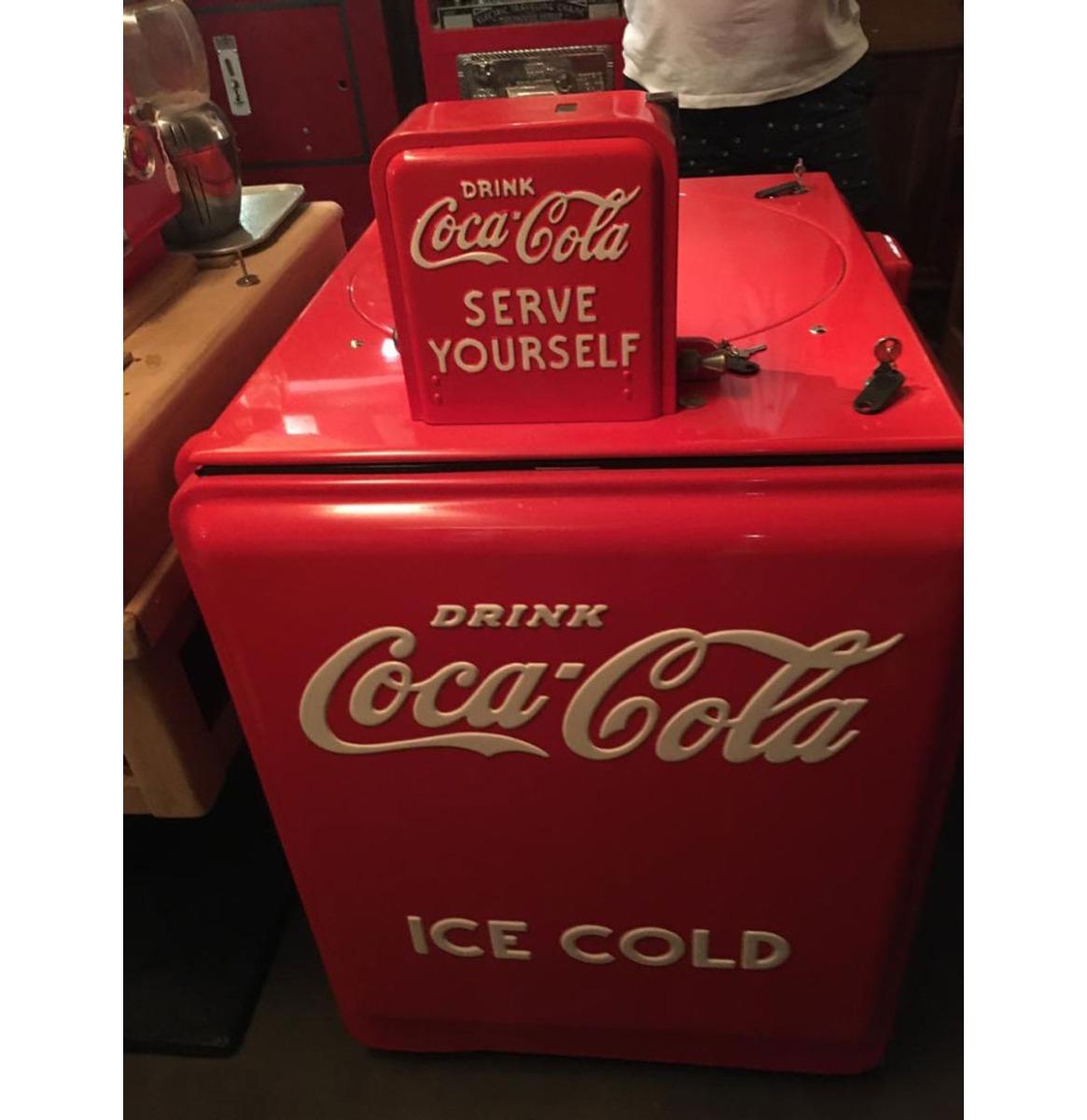 Westinghouse Coca-Cola Koeler - 1938 - Gerestaureerd - Consignatie