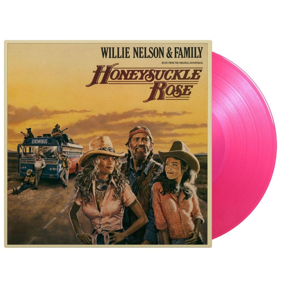 OST - Willie Nelson - Honeysuckle Rose 2-LP LIMITED Coloured Vinyl