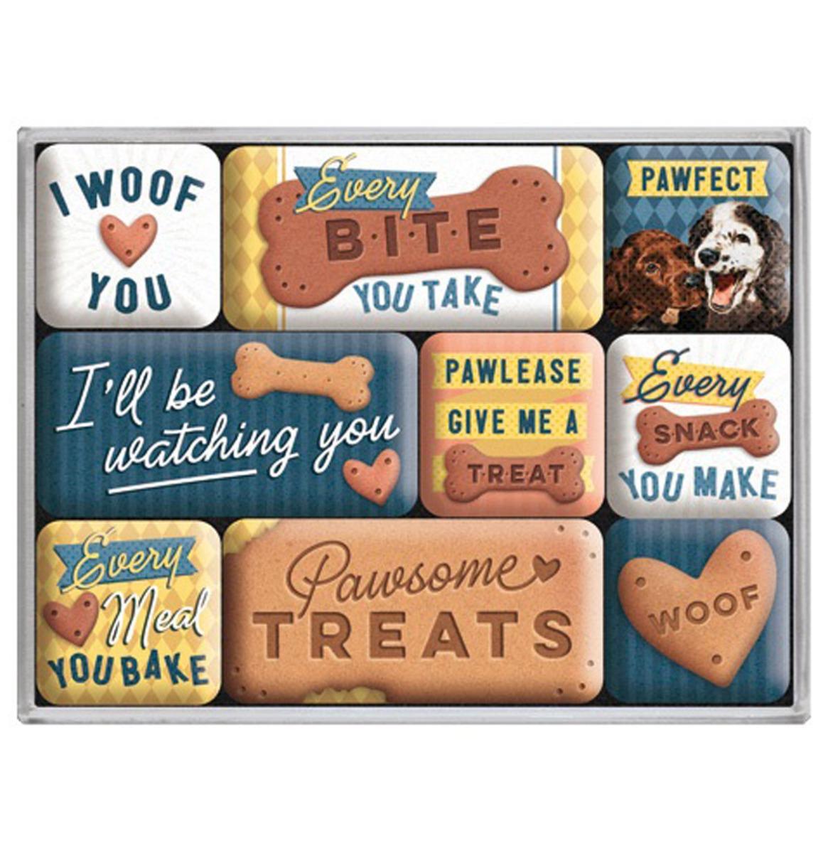 Magneet Set Every Bite You Take Dog Treats