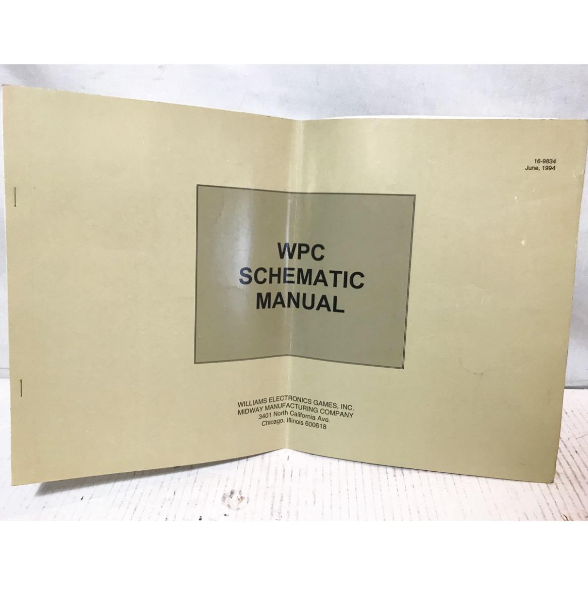 Williams Flipperkast WPC Schematische Handleiding