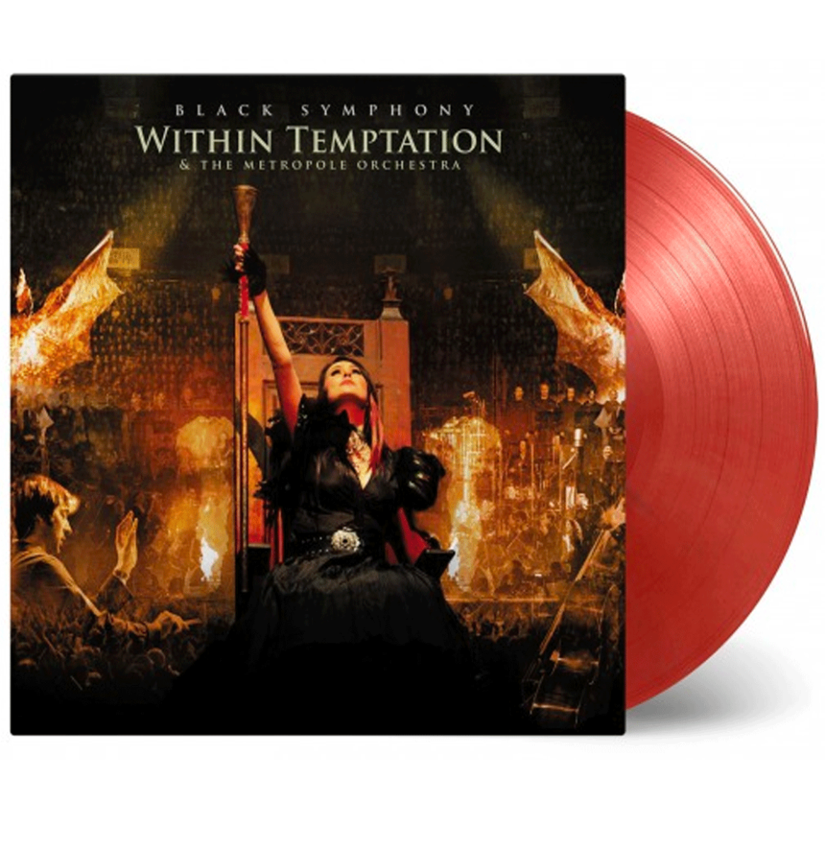 Within Temptation & The Metropole Orchestra - Black Symphony 3 LP Gelimiteerde Editie