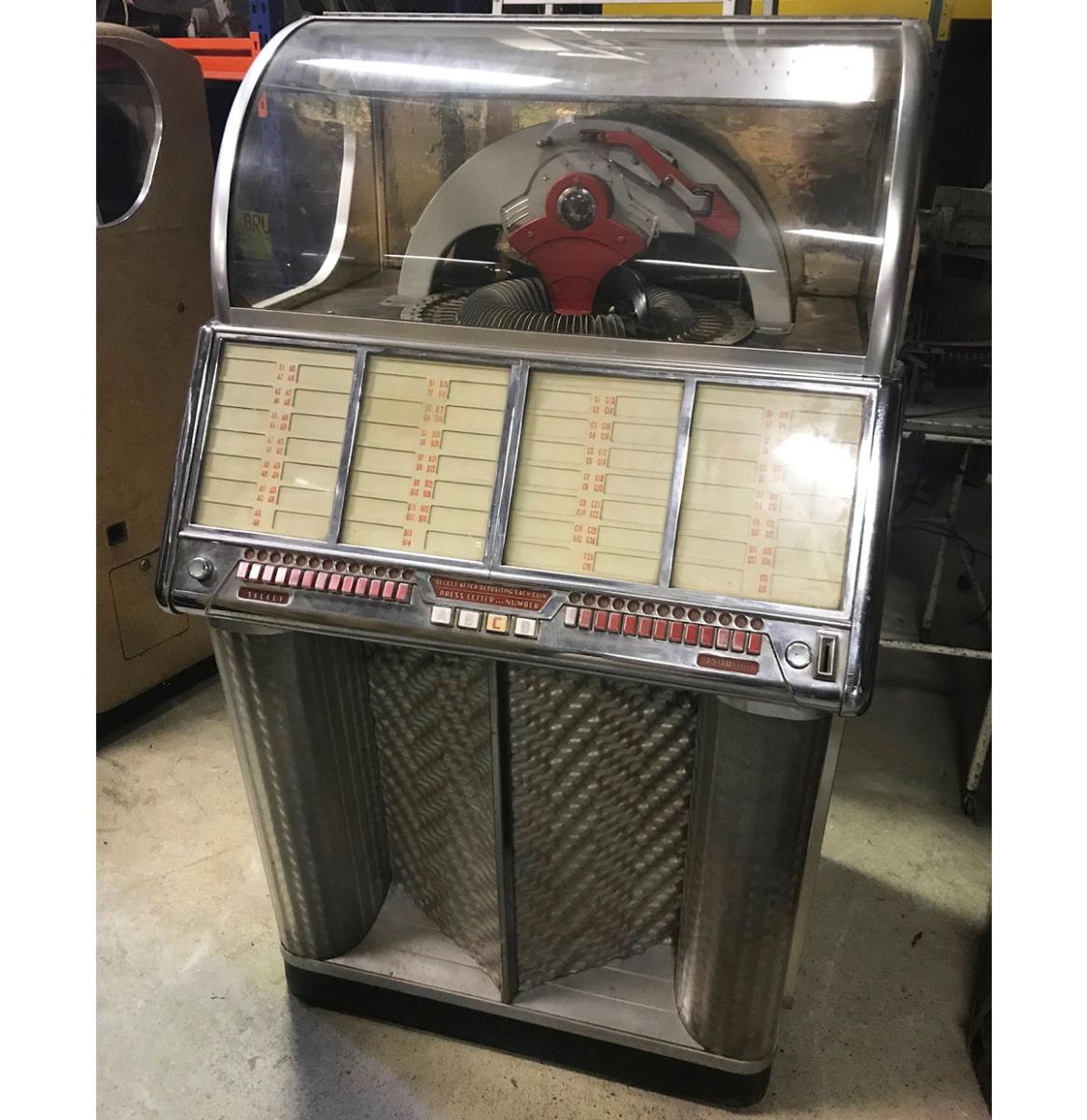 Wurlitzer 1700 Jukebox 1954 - Origineel (1)