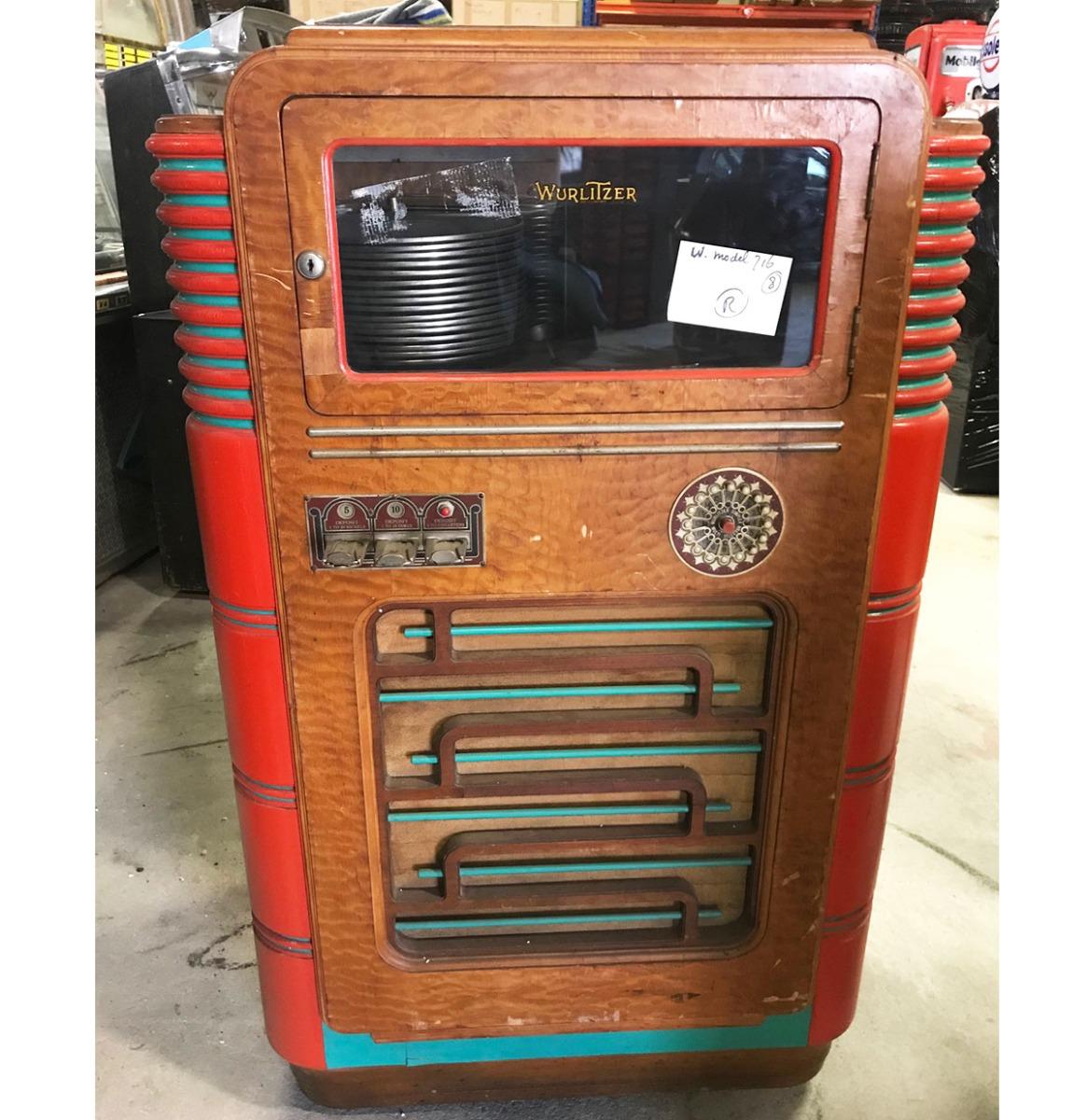 Wurlitzer 716 Jukebox - Origineel