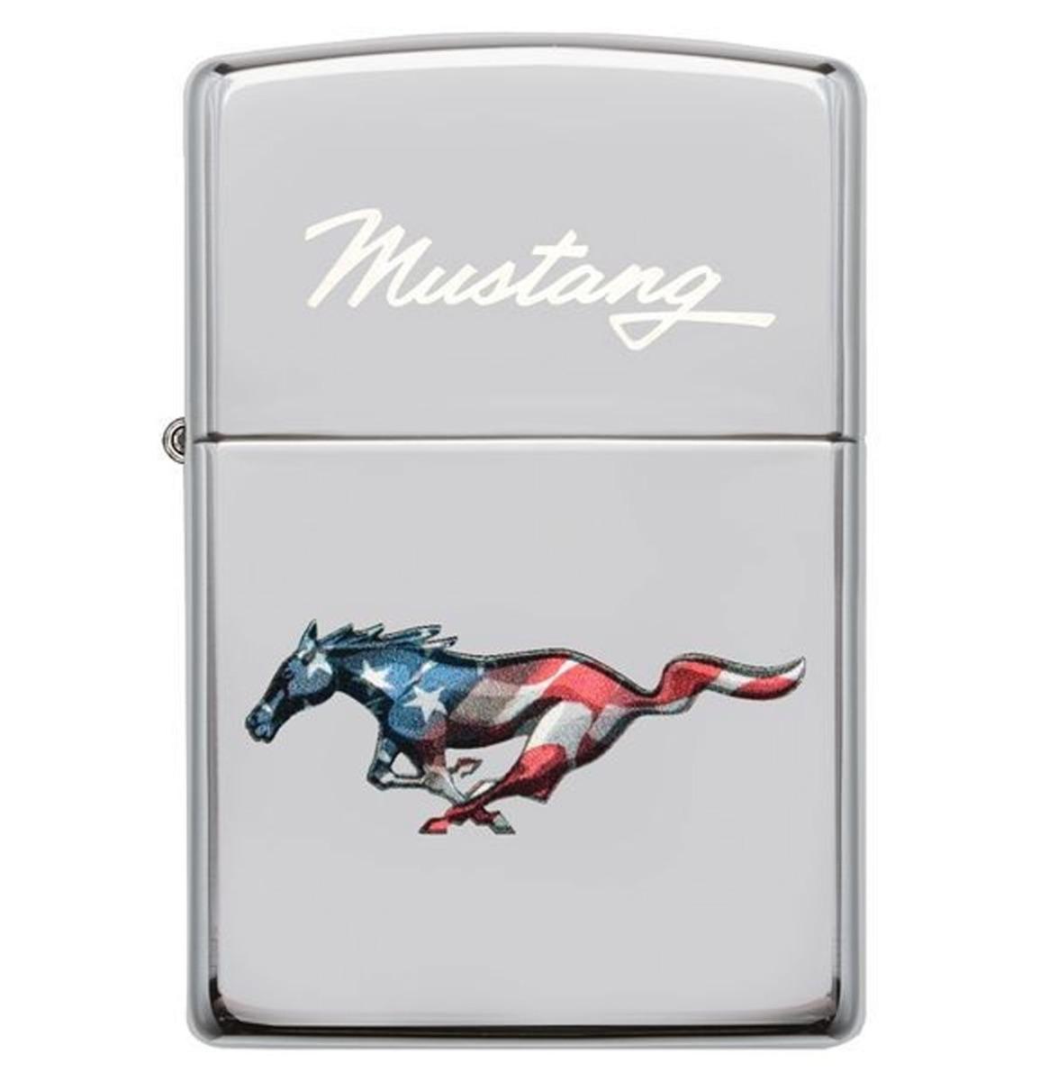 Zippo Aansteker Ford Mustang Amerikaans Paard