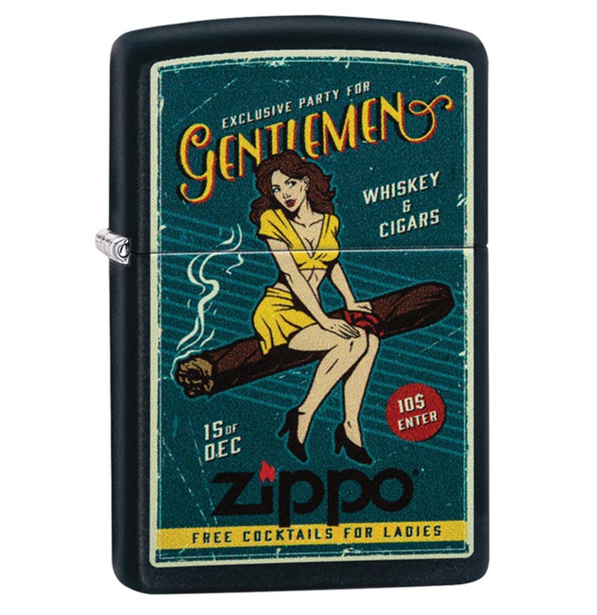Zippo Aansteker Cigar Girl