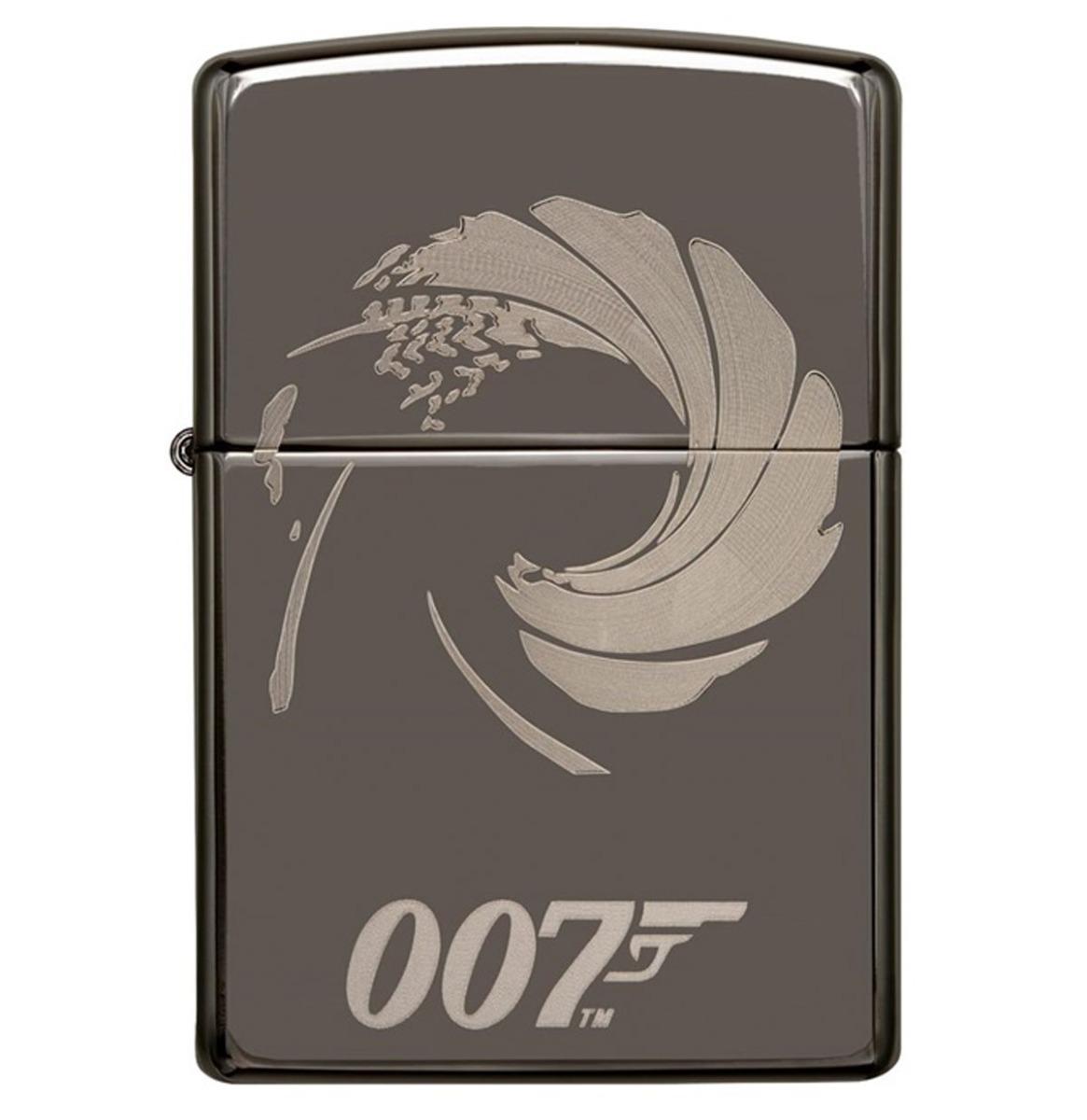 fiftiesstore Zippo Aansteker 007 James Bond Zilver