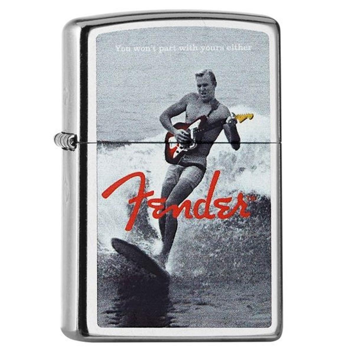 fiftiesstore Zippo Aansteker Playing Fender