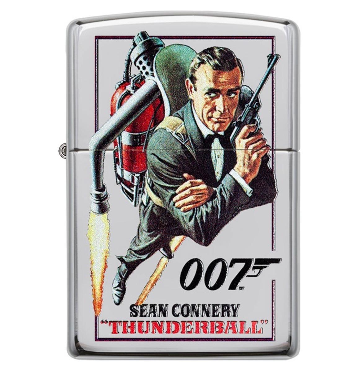fiftiesstore Zippo Aansteker James Bond 007 Sean Connery