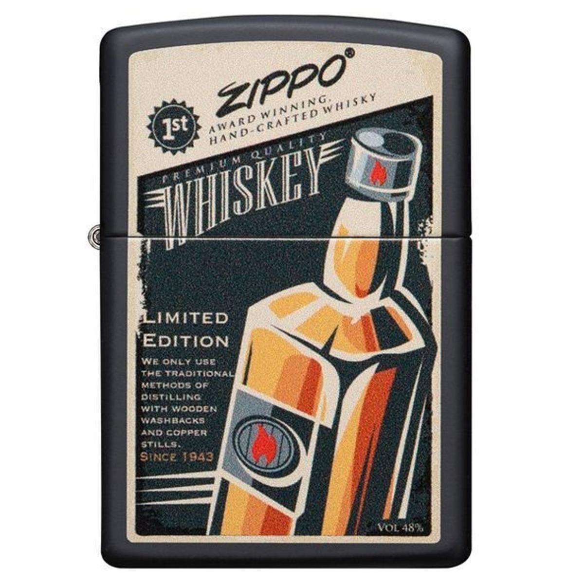 fiftiesstore Zippo Aansteker Whiskey