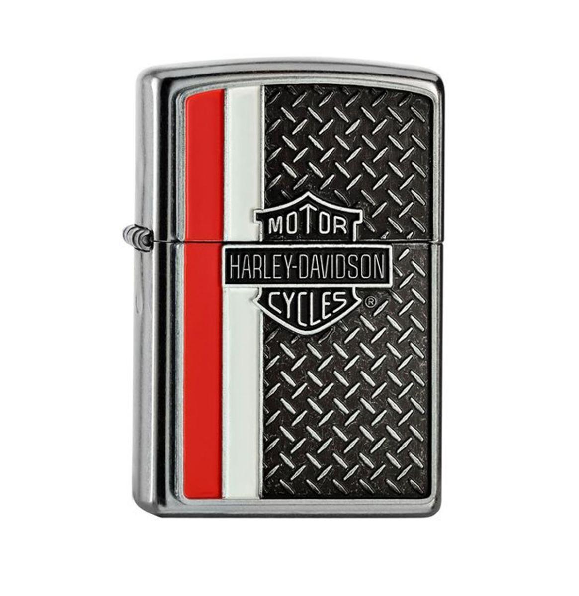 Zippo Aansteker Harley-Davidson Diamond Plate