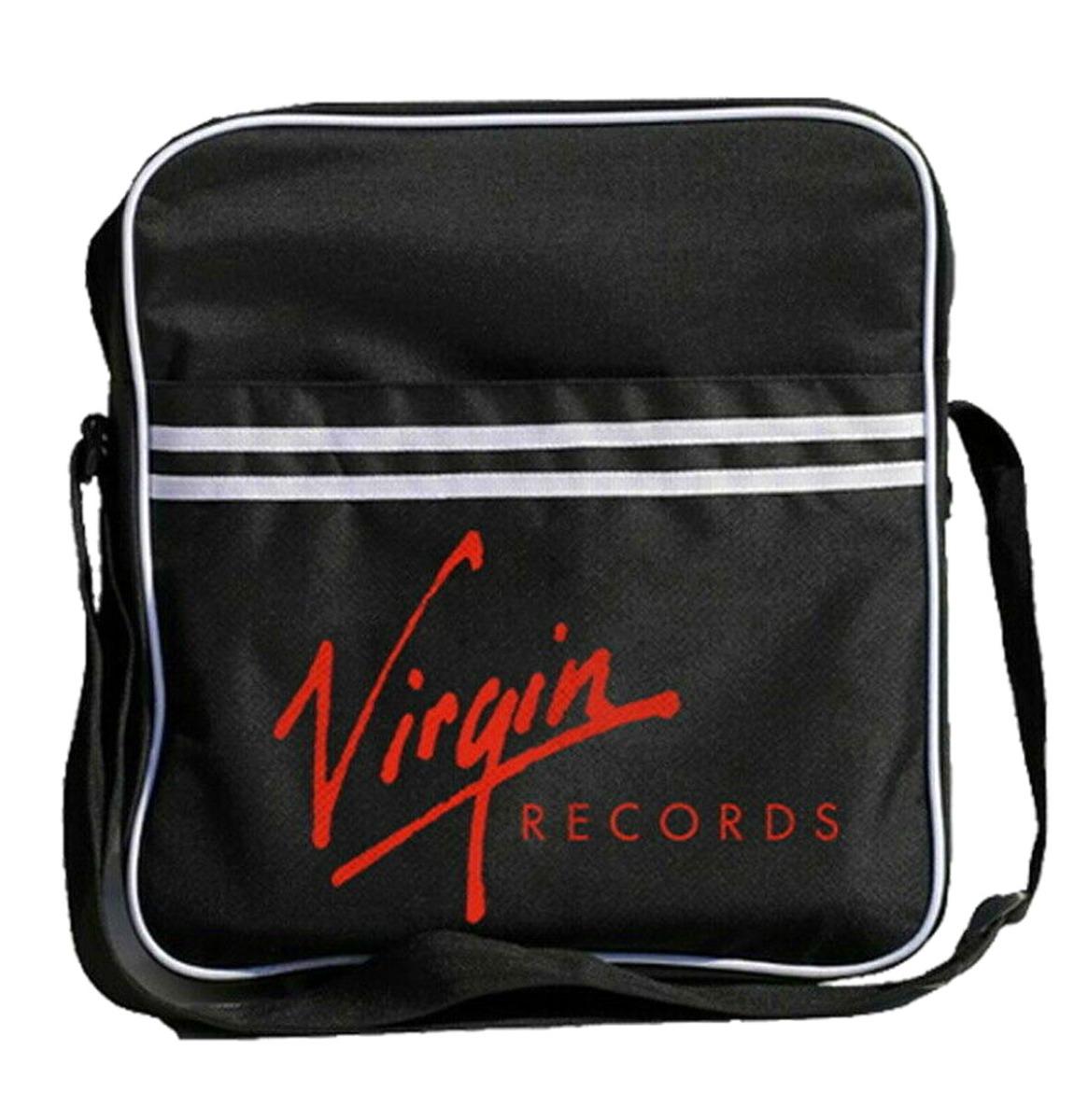 Virgin Records Zip Top Messenger Tas