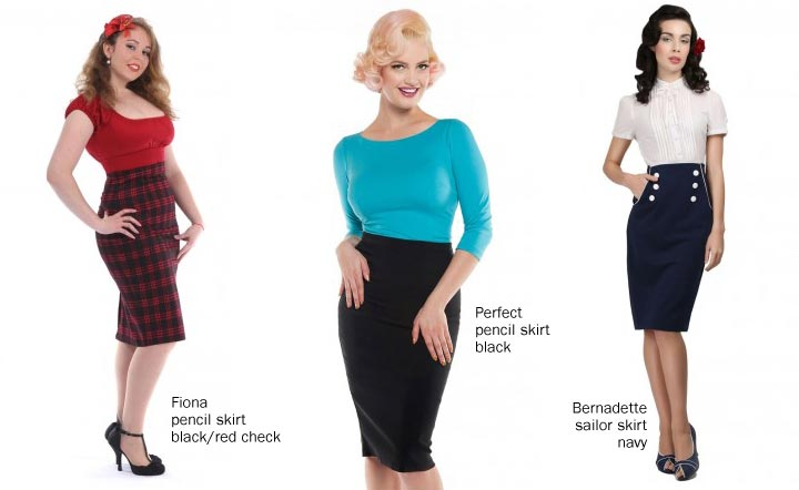 Pencil Skirts in our store
