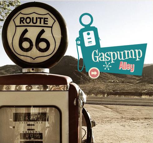 Benzinepompen - Gaspumps